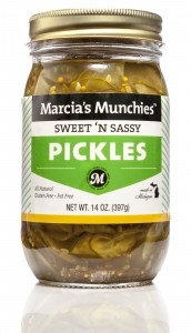 Sweet 'N Sassy Pickles  The original thinly sliced pickle chips.