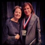 Marcia Nodel with Alice Waters
