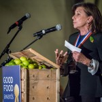 Good Food Awards - ceremony photo Marcia speech