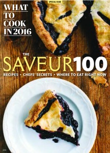 SAVEUR 100 2016 - Cover